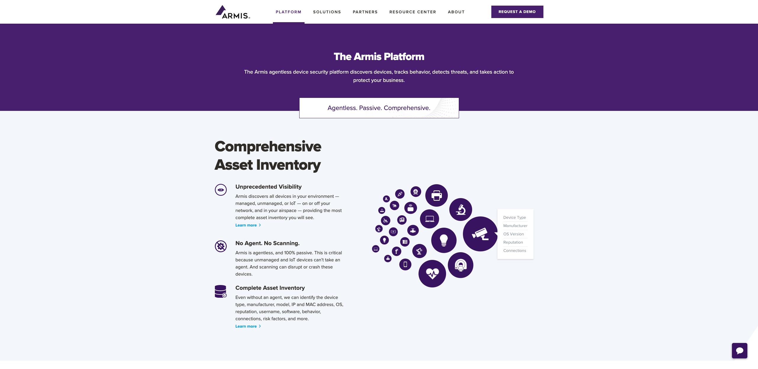 armis-iot-product-tour-page